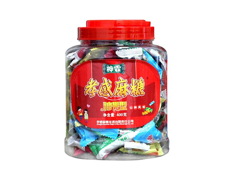 糖果型麻糖—桶装400g