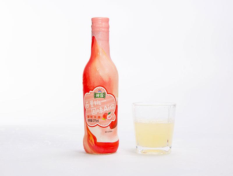 神霖蜜桃米露(无醇米酒)