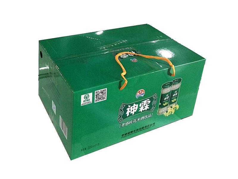 神霖米酒—218gx8提式桂花