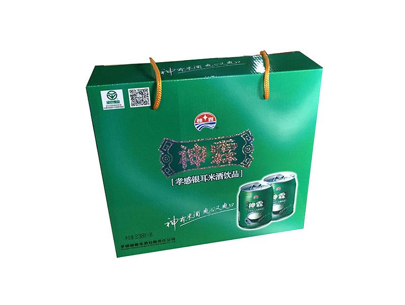神霖米酒—238mlX8听装提式