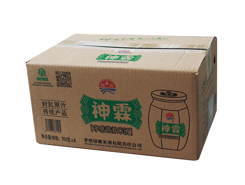 神霖米酒—700gx6外箱