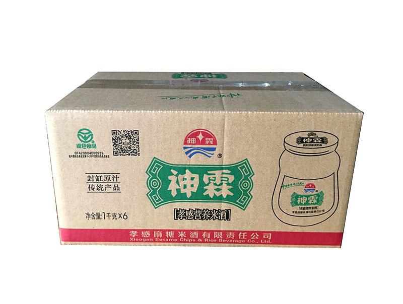 神霖米酒—1000gX6千福坛箱式