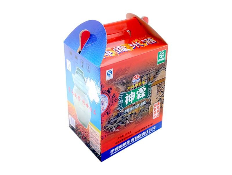 神霖米酒—1.5千克玻璃坛装