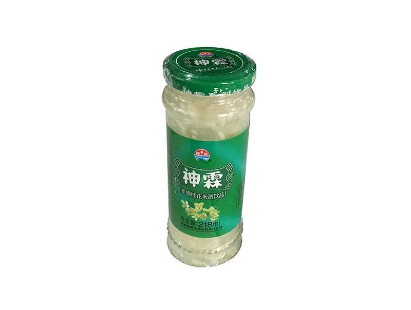 神霖米酒—218ml瓶装桂花米酒