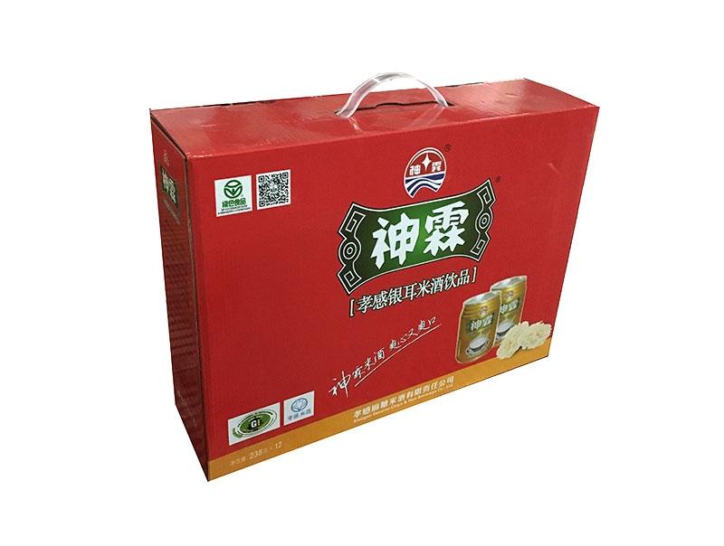 神霖米酒—238gX12金罐提式