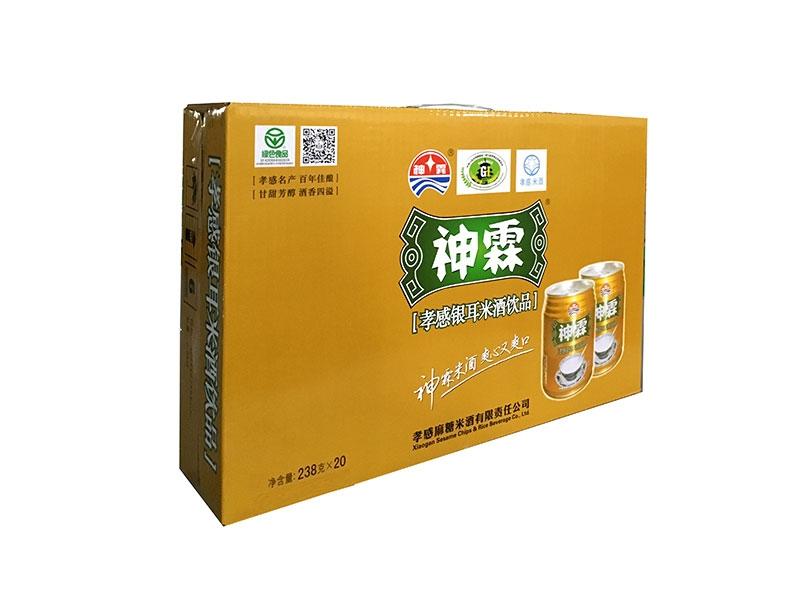 神霖米酒—238gx20金罐箱式