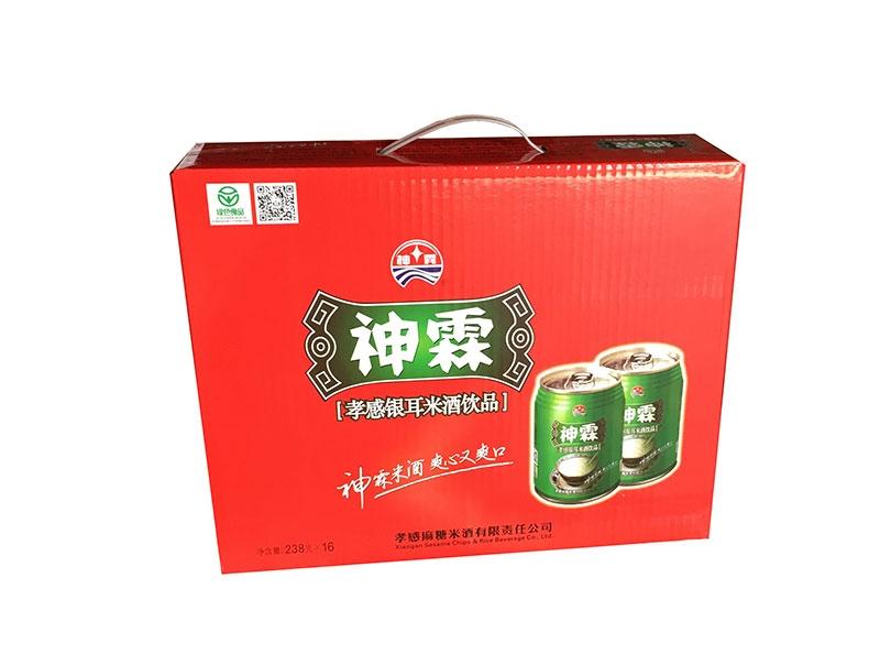 神霖米酒—238mlX16听装提式