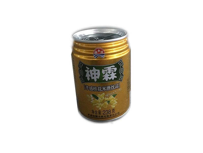 神霖米酒—238g桂花听装