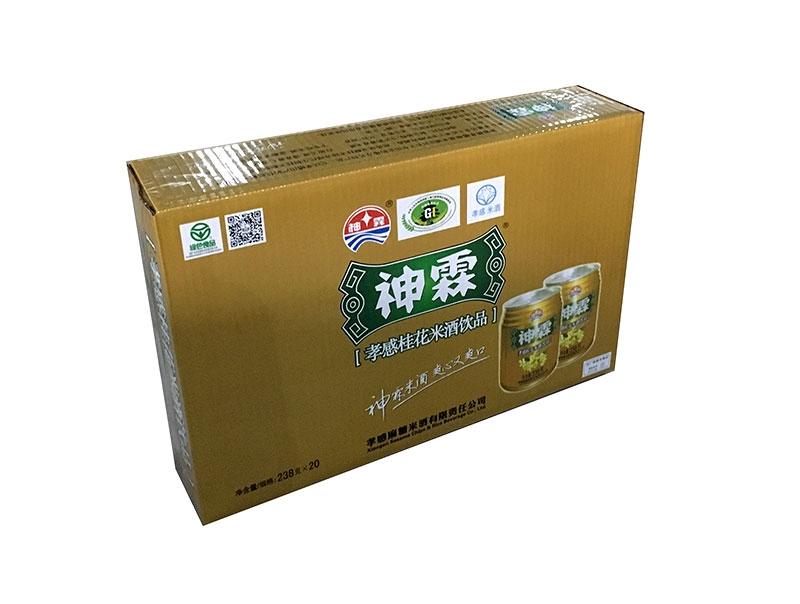 神霖米酒—238gx20听装桂花箱式