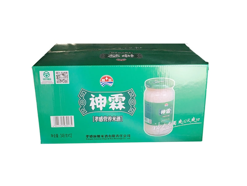 神霖米酒—348gx12箱式