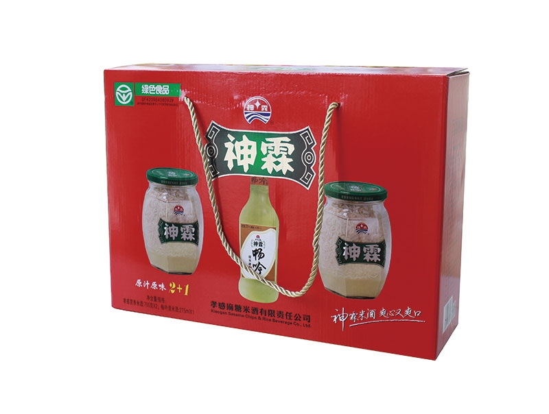 神霖米酒—蜂窝2+1提式