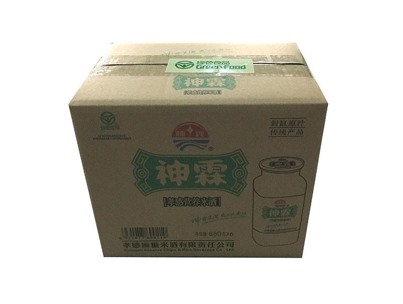 神霖米酒—880gX6凉水杯箱式