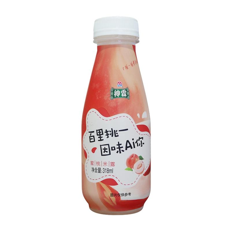 318毫升神霖蜜桃米露(无醇米酒)